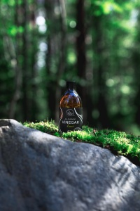 Product photography in the forest