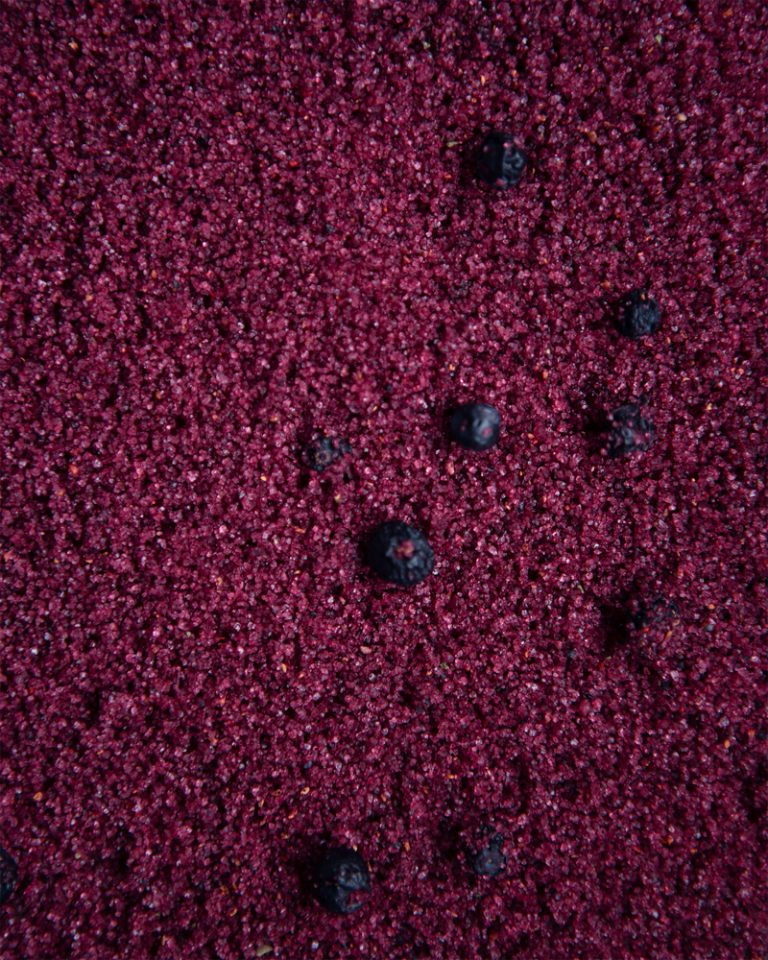 Wild Blueberry Xylitol texture